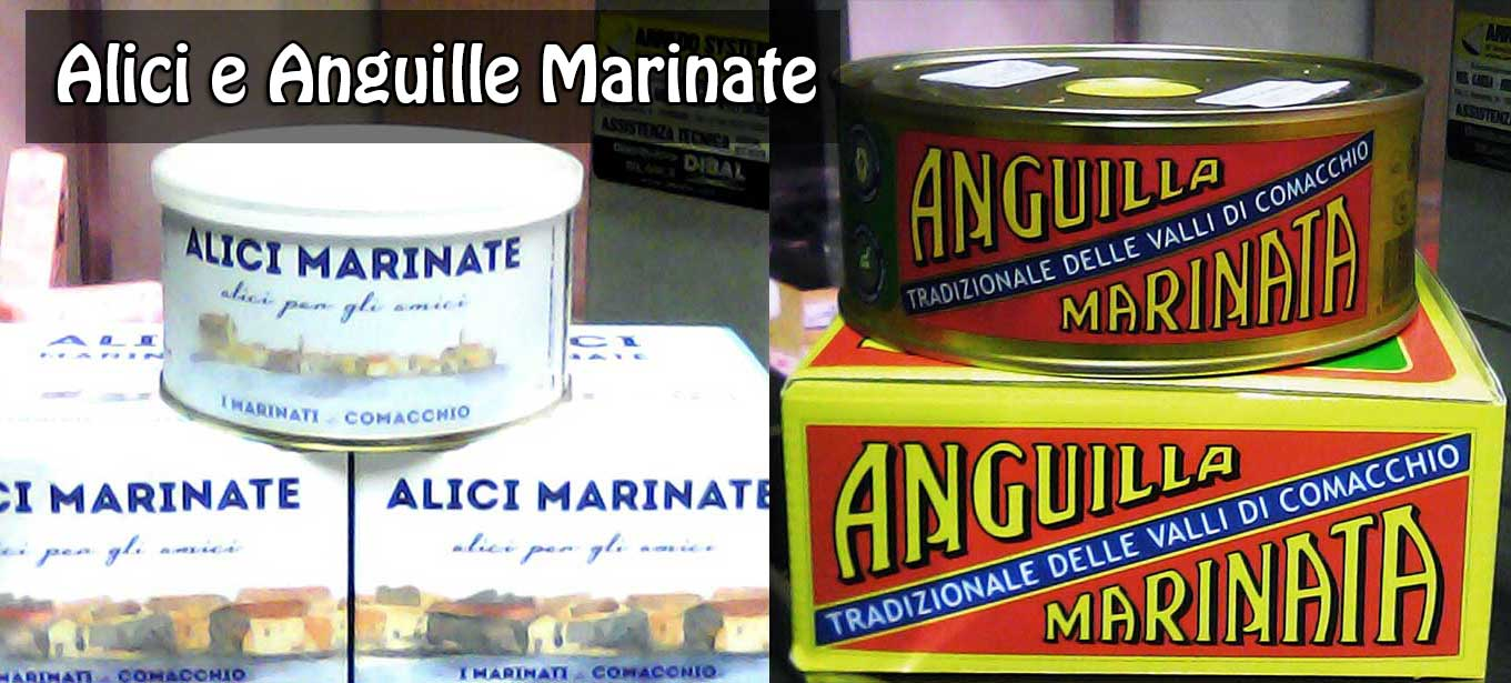 Alici e Anguille Marinate